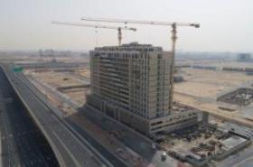Construction progress at Azizi's Plaza hits 90 per cent