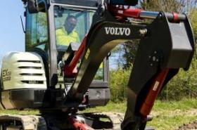 Volvo CE's electric compact excavator prototype wins INTERMAT Innovation Award