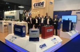 Exide unveils GNB lithium technology at Logistica