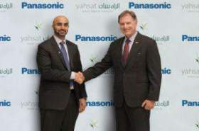 Panasonic and Yahsat sign broadband connectivity deal