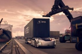 Volvo Trucks' autonomous vehicle to transport DFDS goods