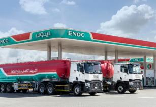 ENOC takes delivery of eight C 380 Renault Trucks models