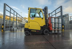 Final Hyster 3.5T Fortens with Raised Cab
