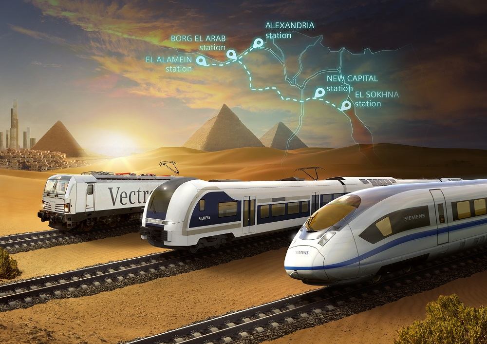 Siemens Mobility to install high-speed rail system in Egypt