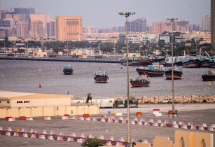 Middle East Meed port