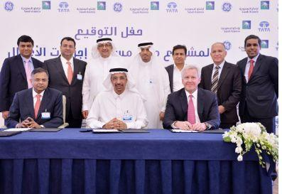Saudi Aramco GE and Tata launch services centre