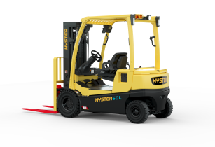 Hyster presents fast charging forklifts with integrated lithium-ion batteries