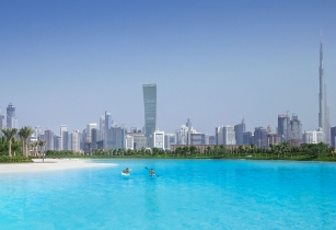 mohammed bin rashid city district one lagoon